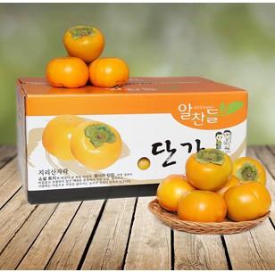 (예약판매)하동단감 15kg(특중품 75과내외)